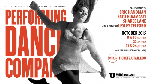 Performing Dance Company to feature work by Lesley Telford of Netherlands Dance Theatre